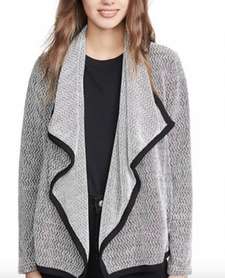 Ivory Speckled Cardi