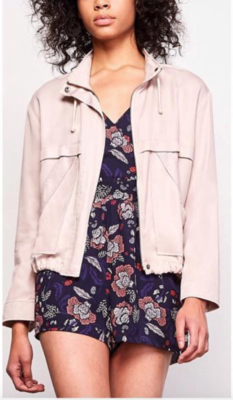 Blush Double Agent Jacket