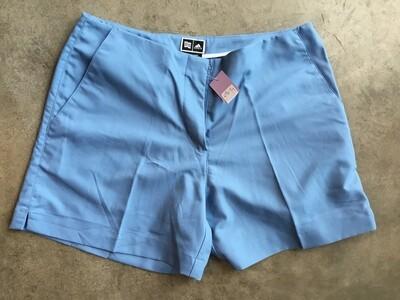 496 adidas blue shorts wmns sz 10 NEW Retail $60.00 051920