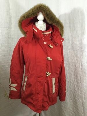080 Bogner red ski coat size 10 womens 032320
