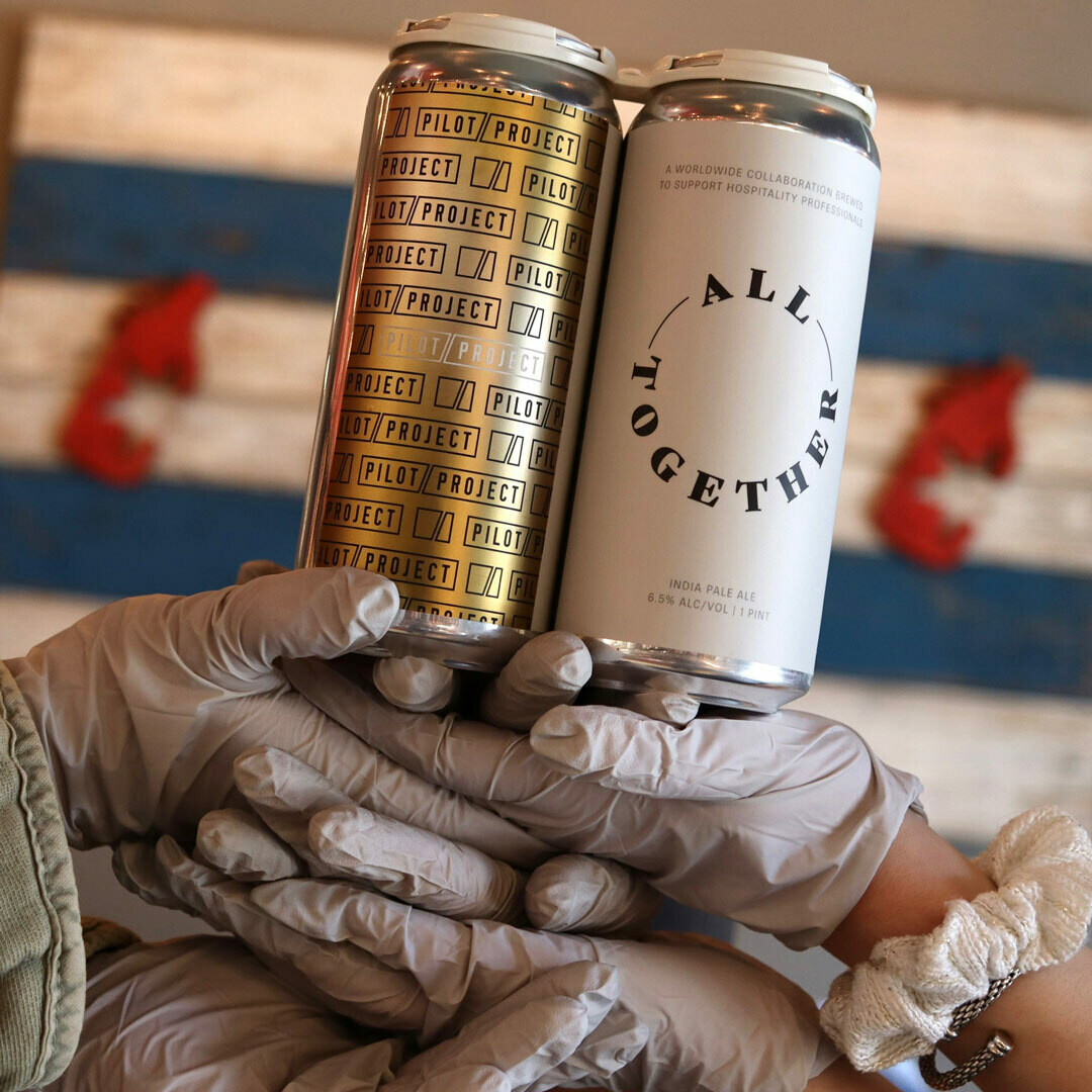Pilot Project All Together Hazy IPA 16 FL. OZ. 4PK Cans