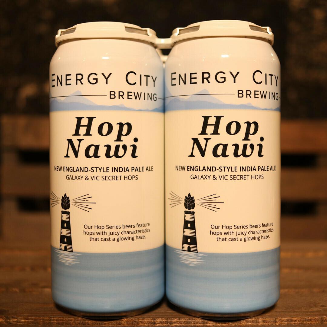 Energy City Hop Nawi NEIPA 16 FL. OZ. 4 PK Cans