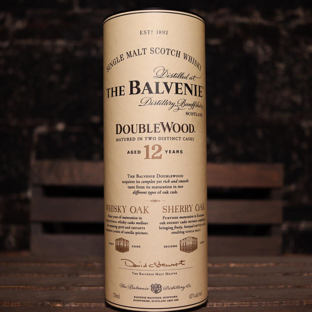 The Balvenie Doublewood Scotch Whisky 12 YR. 750ml.
