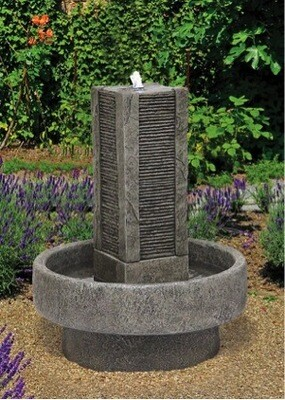 SLATE TOWER FOUNTAIN