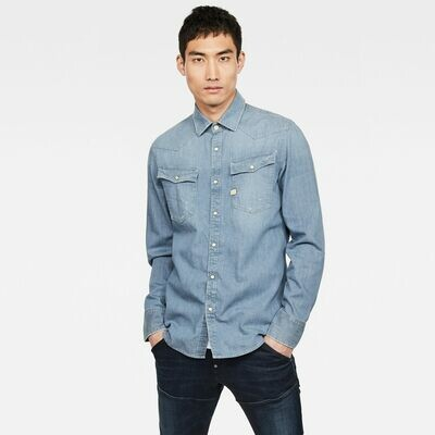 G-star 3301 slim shirt faded basalt