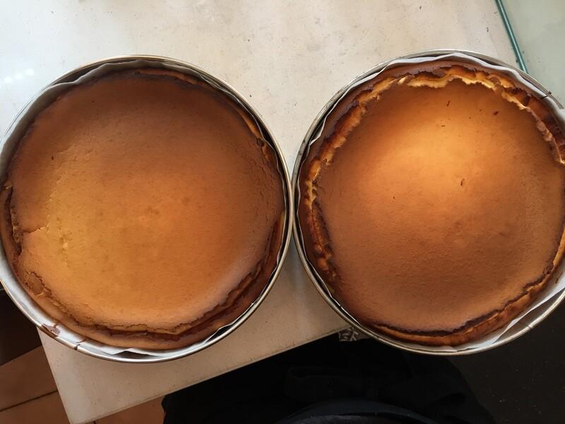 Our Super Basque Cheesecake (serves 6-8)