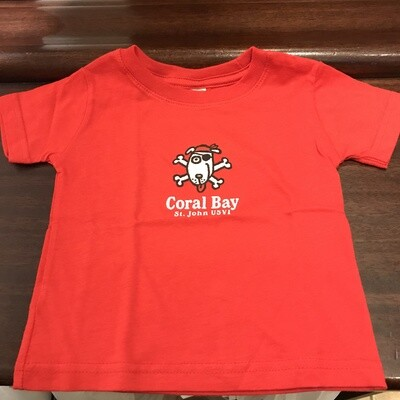 BIG HED INFANT PIRATE DOG TEE
