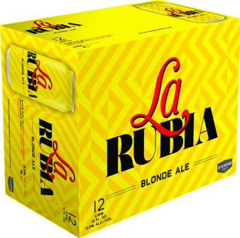 La Rubia (12 pack cans)