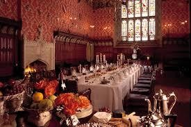 Dinner at the Castle