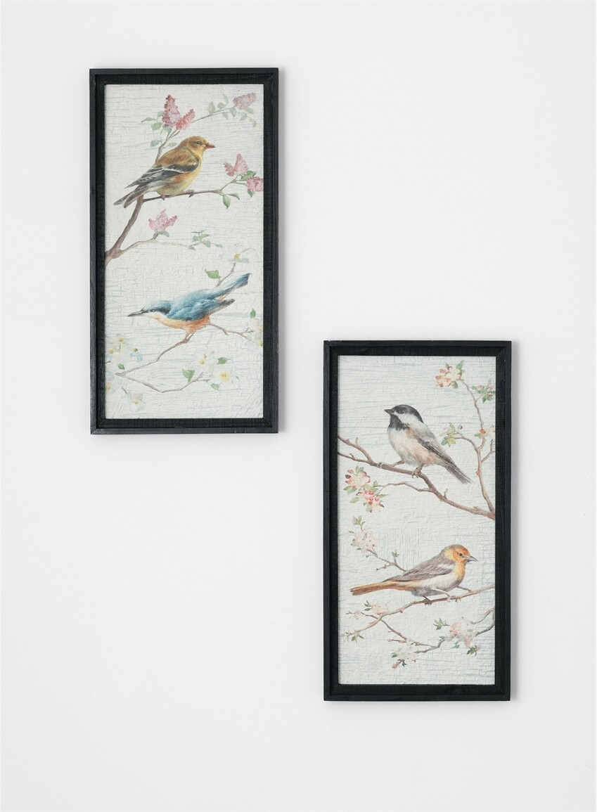 Bird Print on Handmade Paper - LSUL