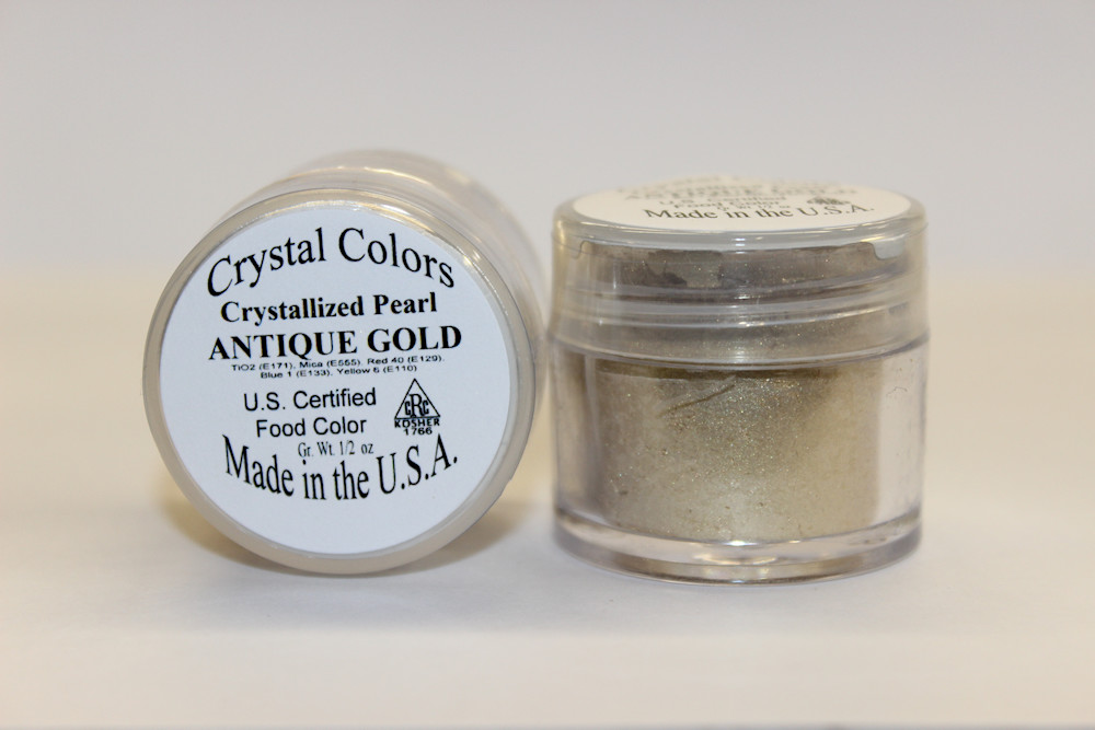 Crystallized Pearl Colors (1/2 oz)