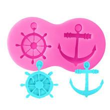 Anchor/Wheel Silicone Mold