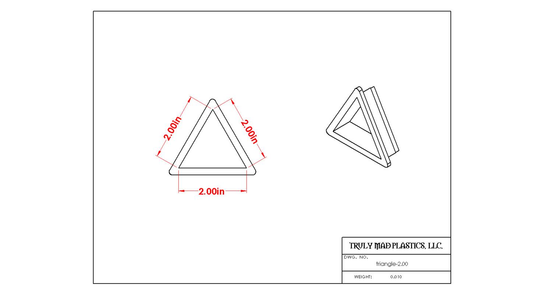 "Triangle 2.00"""