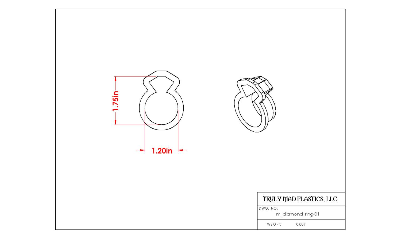 Mini Diamond Ring 01