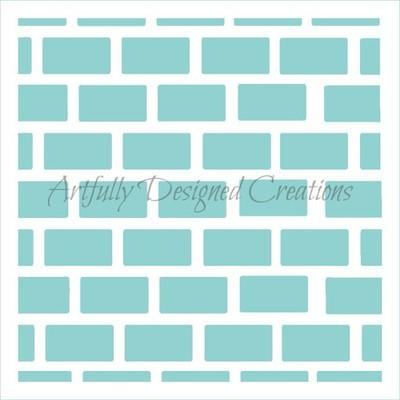 AD Bricks Stencil