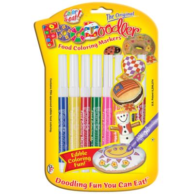 FooDoodler Original Markers 8 Color Pak
