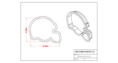 Football Helmet 02