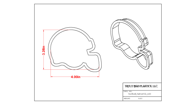Football Helmet 02