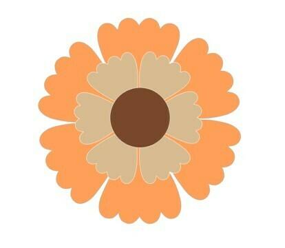 Sunflower Platter (3 piece)