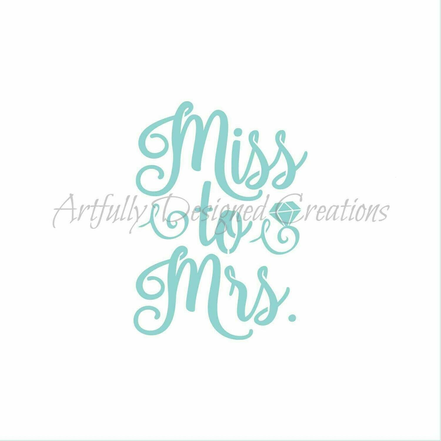 AD Miss to Mrs