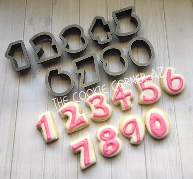 Mini JL Number Set
