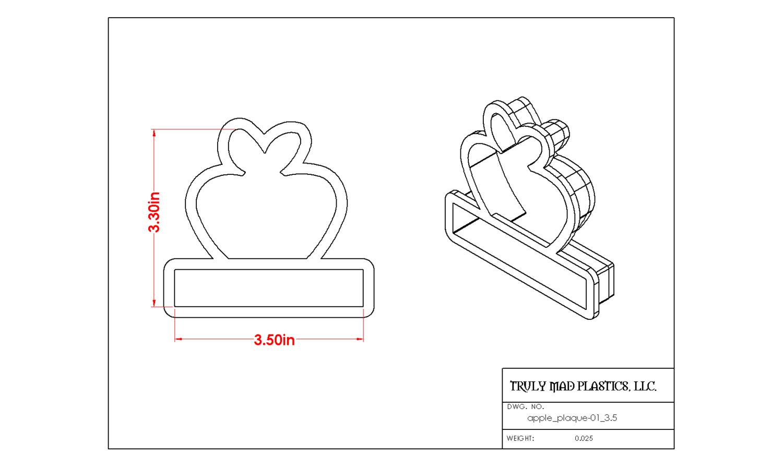 Apple Plaque 01