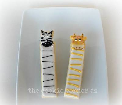 Zebra Cookie Stick (This is for the Zebra only)