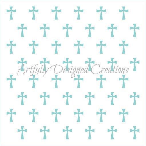 AD Cross Stencil