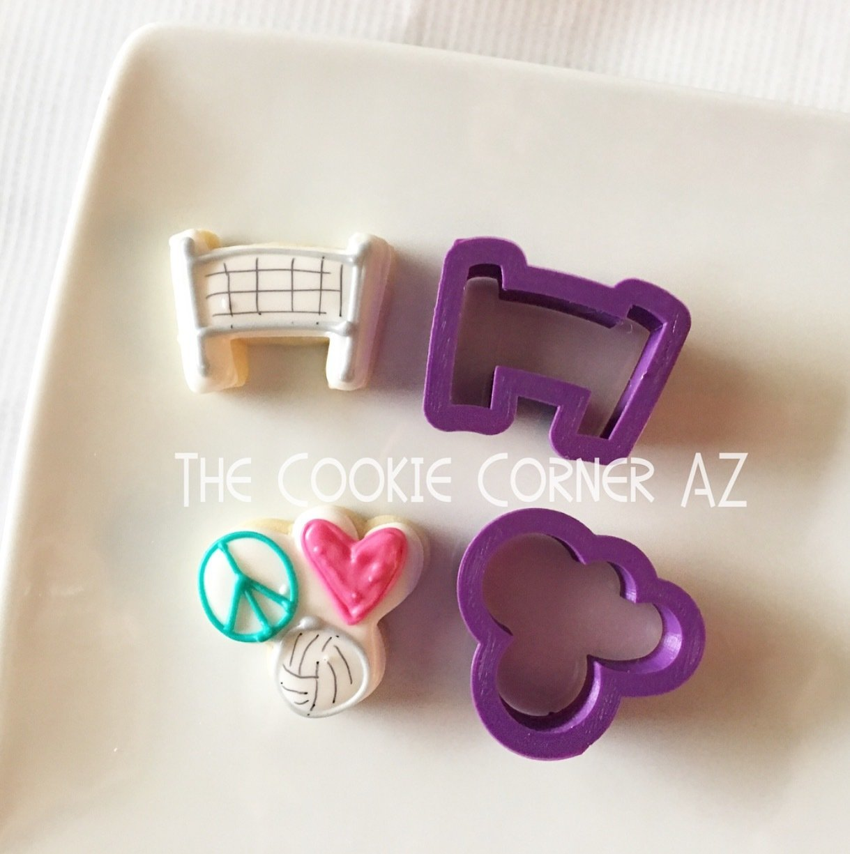 Mini JL Peace Heart V-Ball (peace_heart_v-ball cutter only)