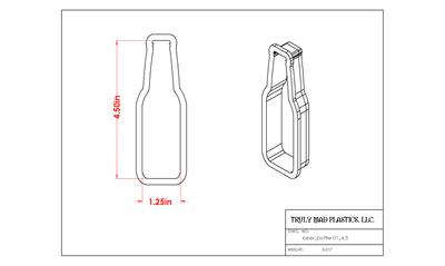 Beer Bottle 01