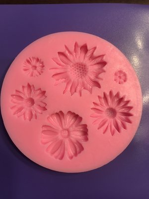 Multiple Flowers Silicone Mold