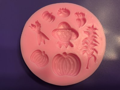 Thanksgiving Silicone Mold
