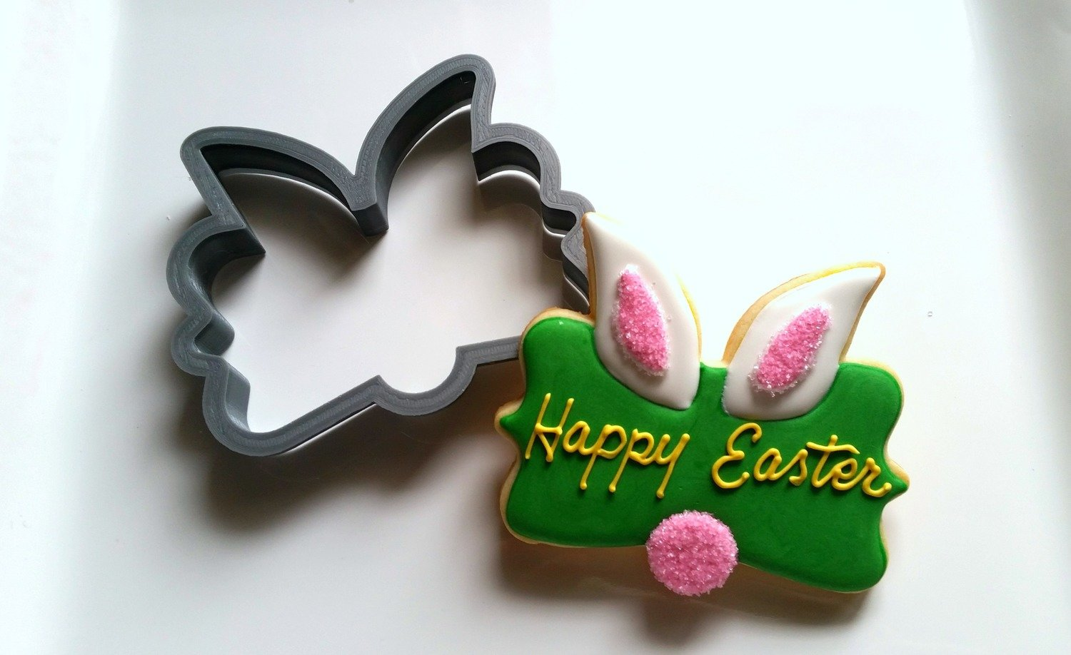 Easter Plaque Bunny 01