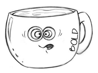 Drawn Bold 01 Coffee