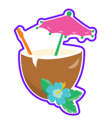 Luau Coconut Drink 01