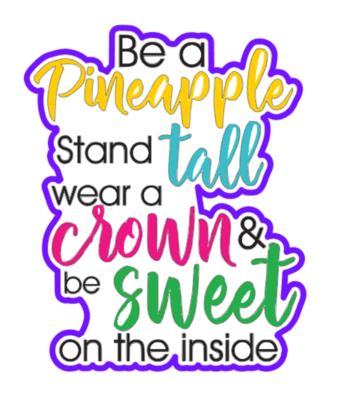 Be A Pineapple 01