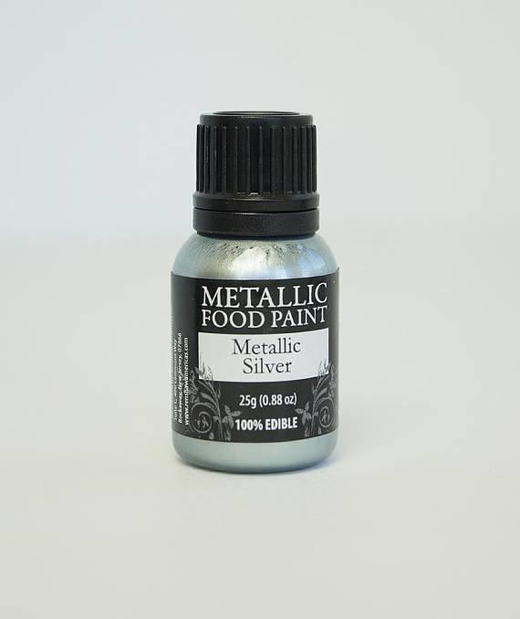 Rainbow Dust Metallic Silver
