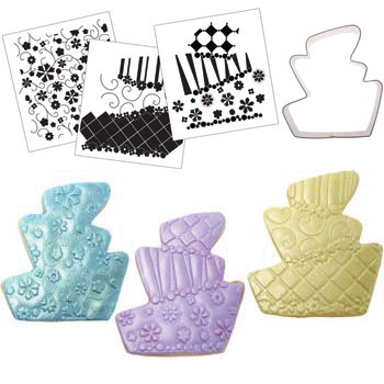 Whimsy Cake Texture and Cutter Set