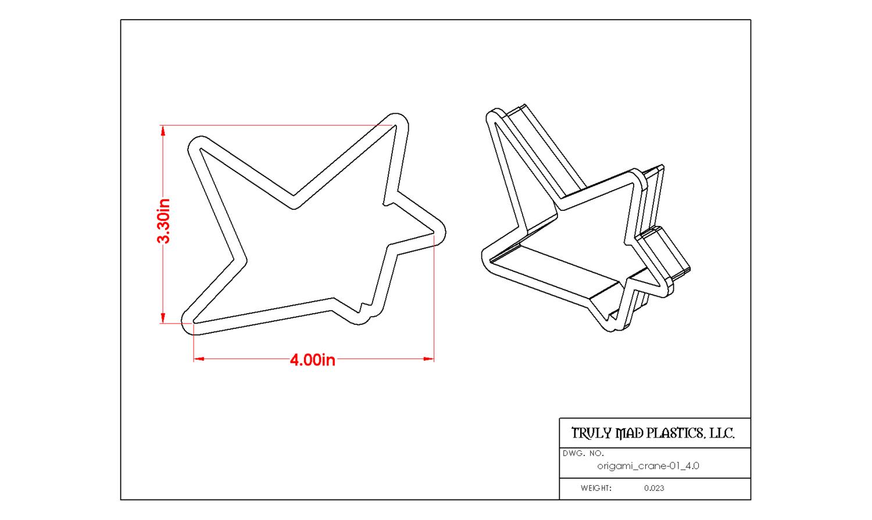 Origami Crane 01