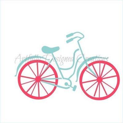 AD Blyss Bicycle Stencil (2 pieces)