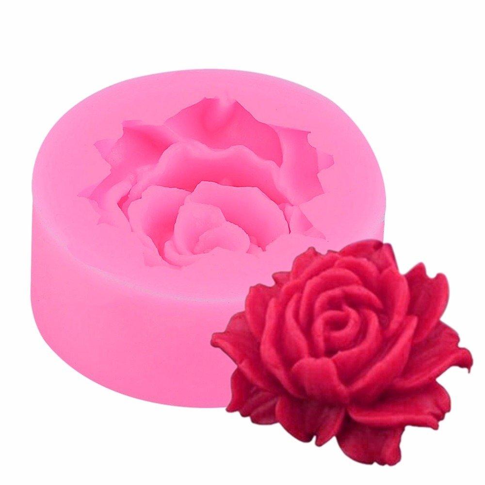 Single Rose Silicone Mold