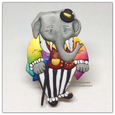 Dressed Elephant 01