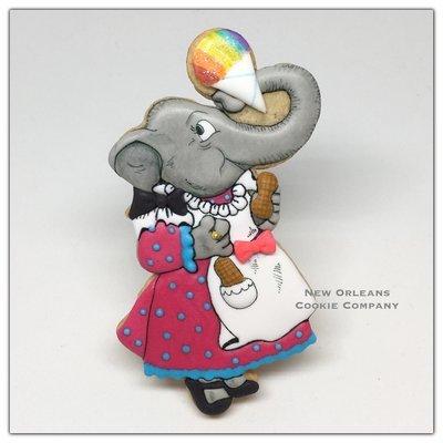 Dressed Elephant 03
