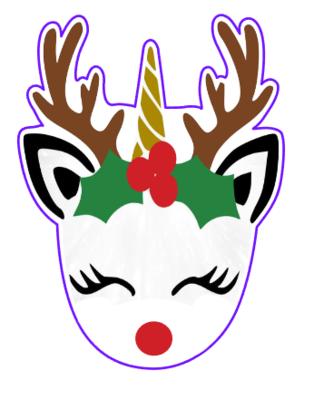 Unicorn Reindeer 01