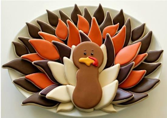 Turkey Platter Set