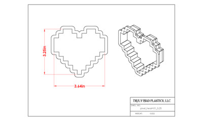 Pixel Heart 01 (3.25