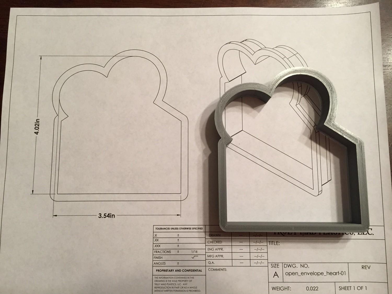 Open Envelope Heart 01
