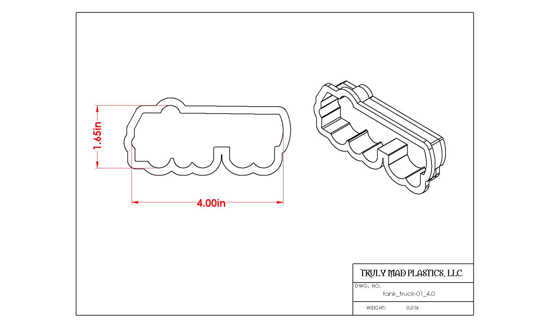 "Tank Truck 01 (4.0"")"