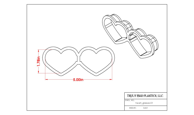 Heart Glasses 01