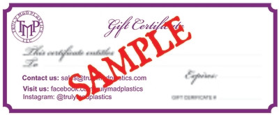 10.00 Gift Certificate